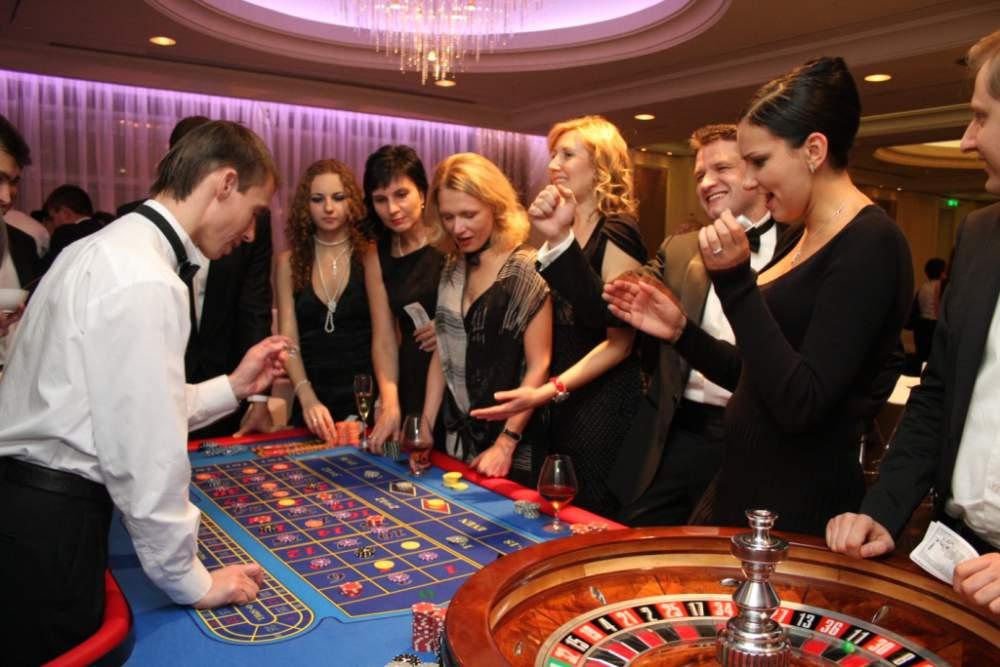 корпоратив в стиле казино
