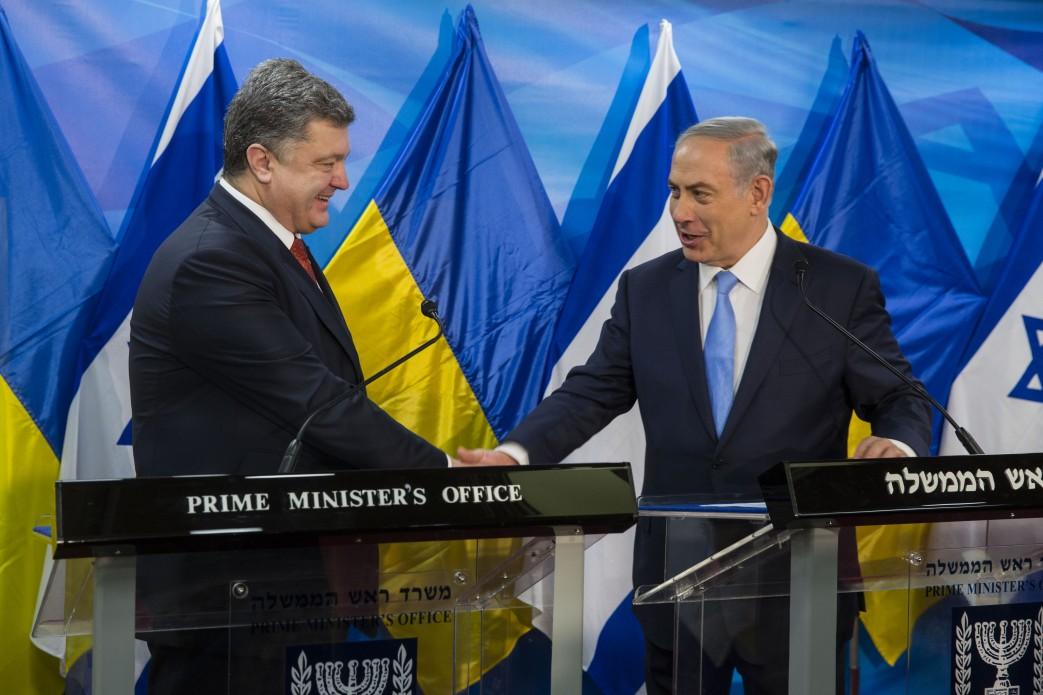 порошенко_израиль_премьер.