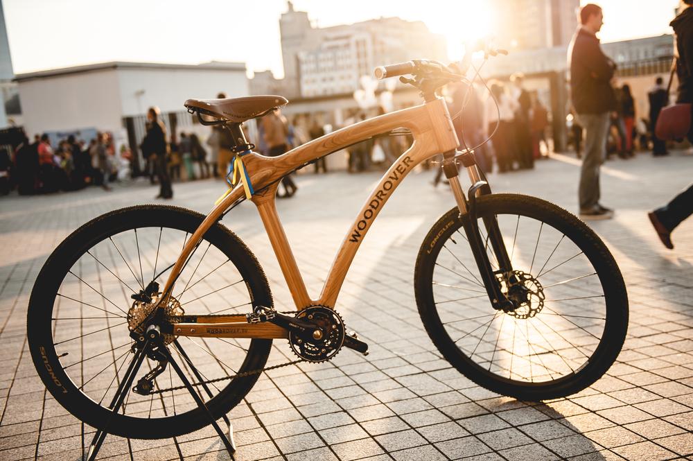 Деревянный велосипед Woodrover