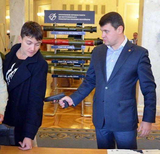 Савченко и Джеймс Бонд