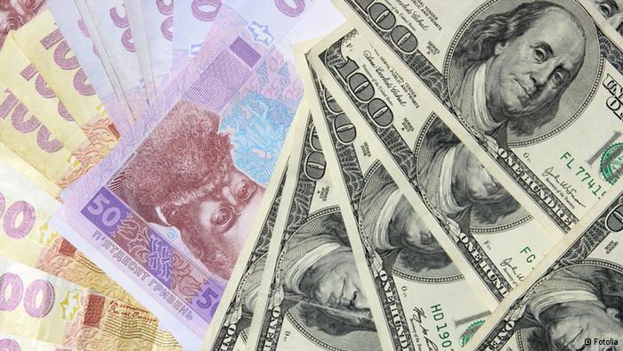 гривна доллар