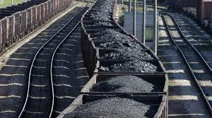 поезд с углем