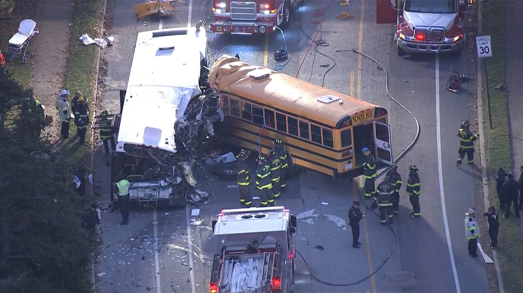 Dottie rambo bus accident photos Before Parkland, Santa Fe and ere Was