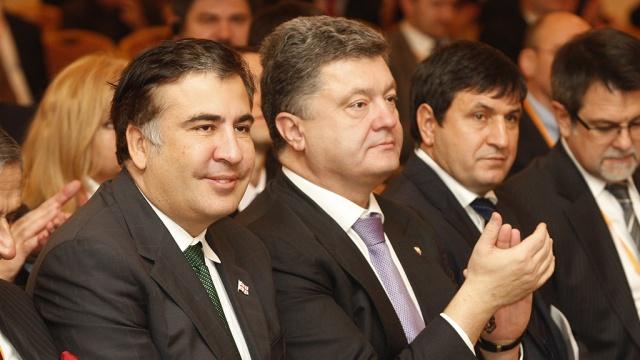 порошенко и саакашвили 2