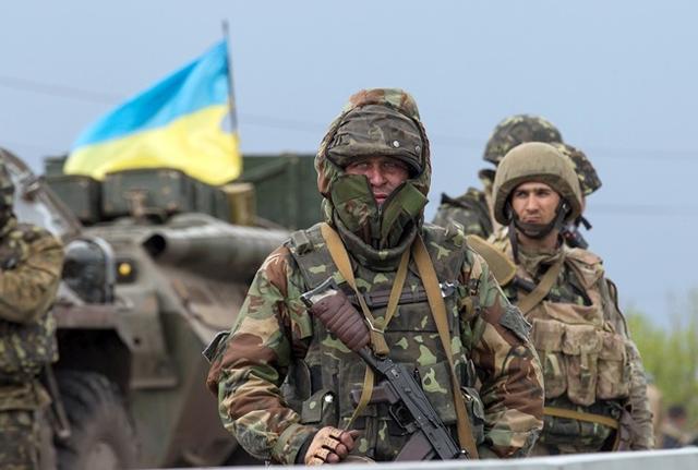 Штаб АТО: Утром боевики атаковали позиции ВСУ около Водяного, ранен один боец
