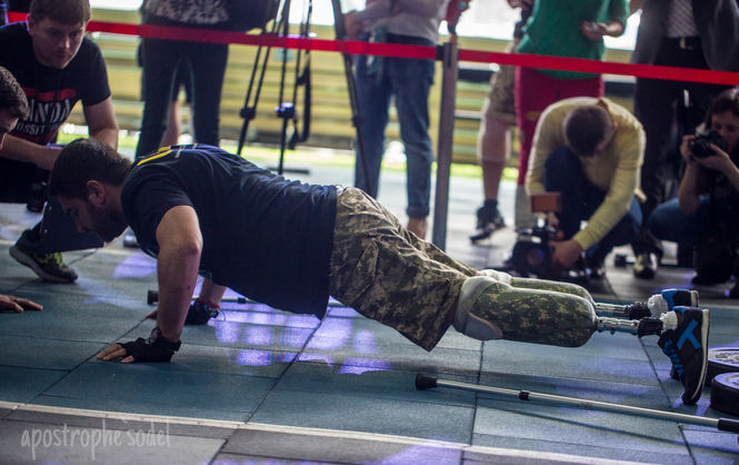 ВКиеве ветераны АТО приняли участие в«Играх героев»