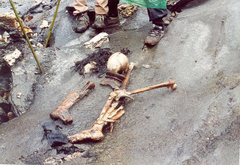 индия скелеты