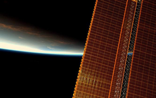 NASA опубликовало фото рассвета изкосмоса