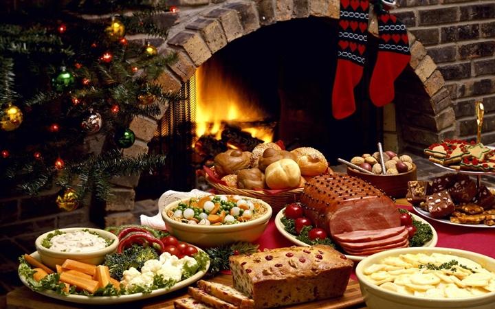 самое экзотическое рождественское блюдо