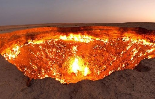 туркмения ворота в ад