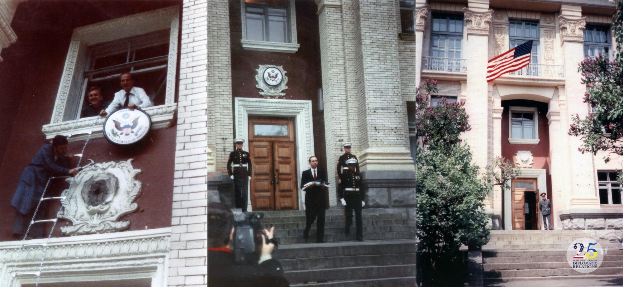 25 лет дипломатических отношений между Украиной и США.