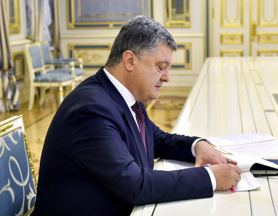 Порошенко написал письма политзаключенным РФ