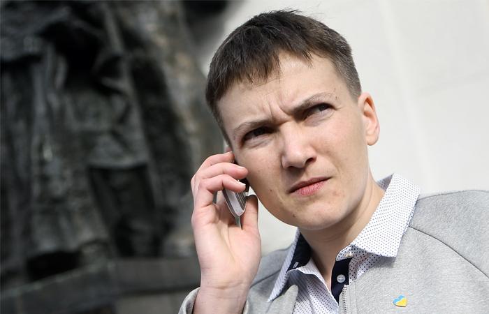 Савченко опубликовала список военнопленных