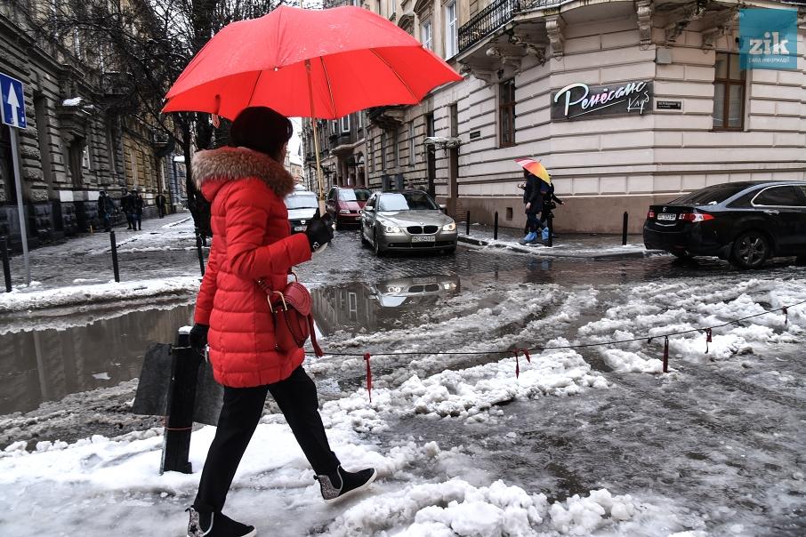 В киеве расплавят снег