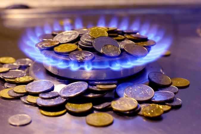 цена на газ.