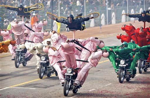 парад в Индии