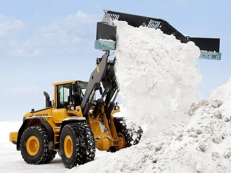 уборка снега Украина