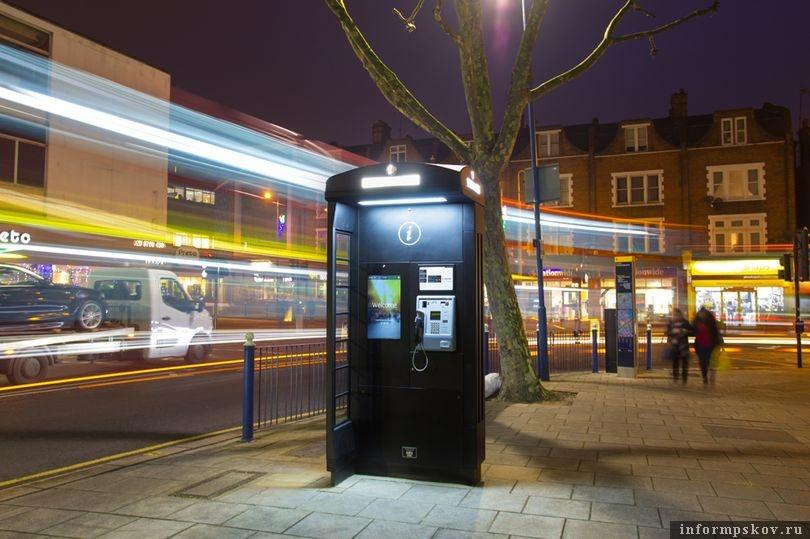 Новый дизайн британских телефонных будок