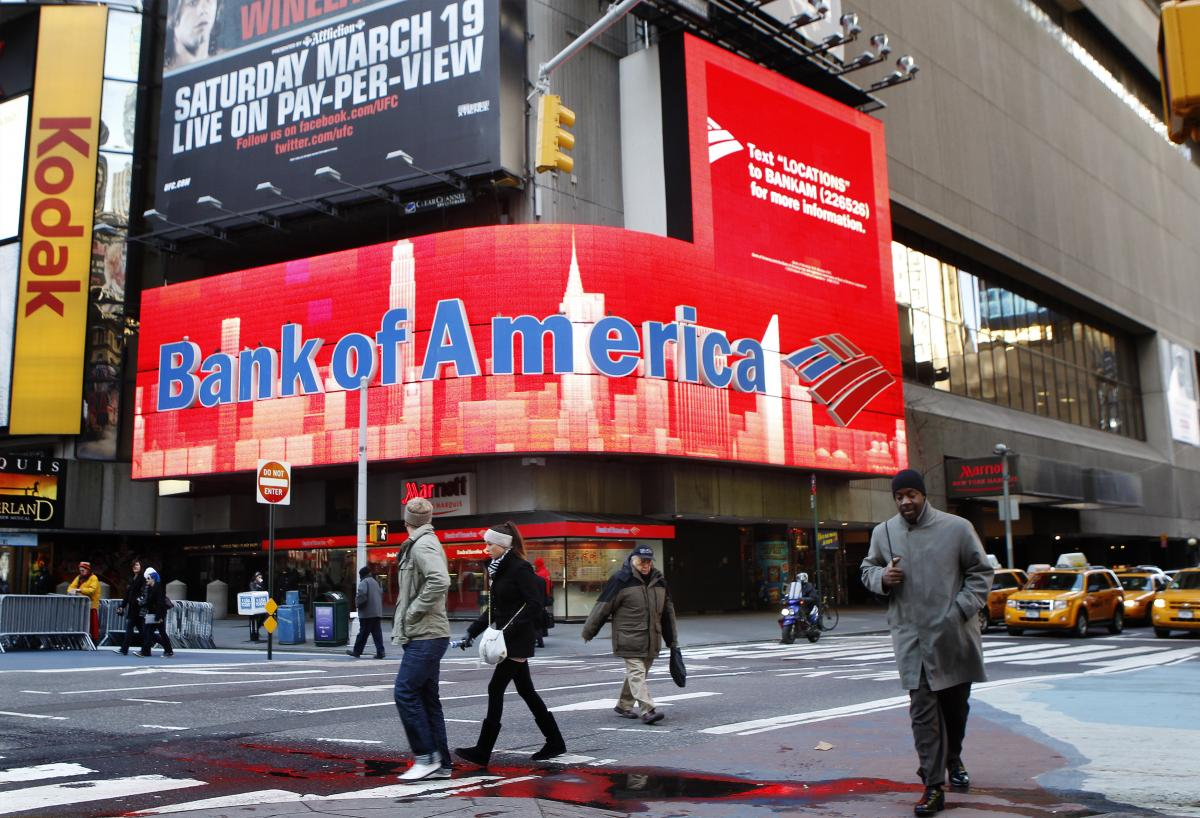 банк америка