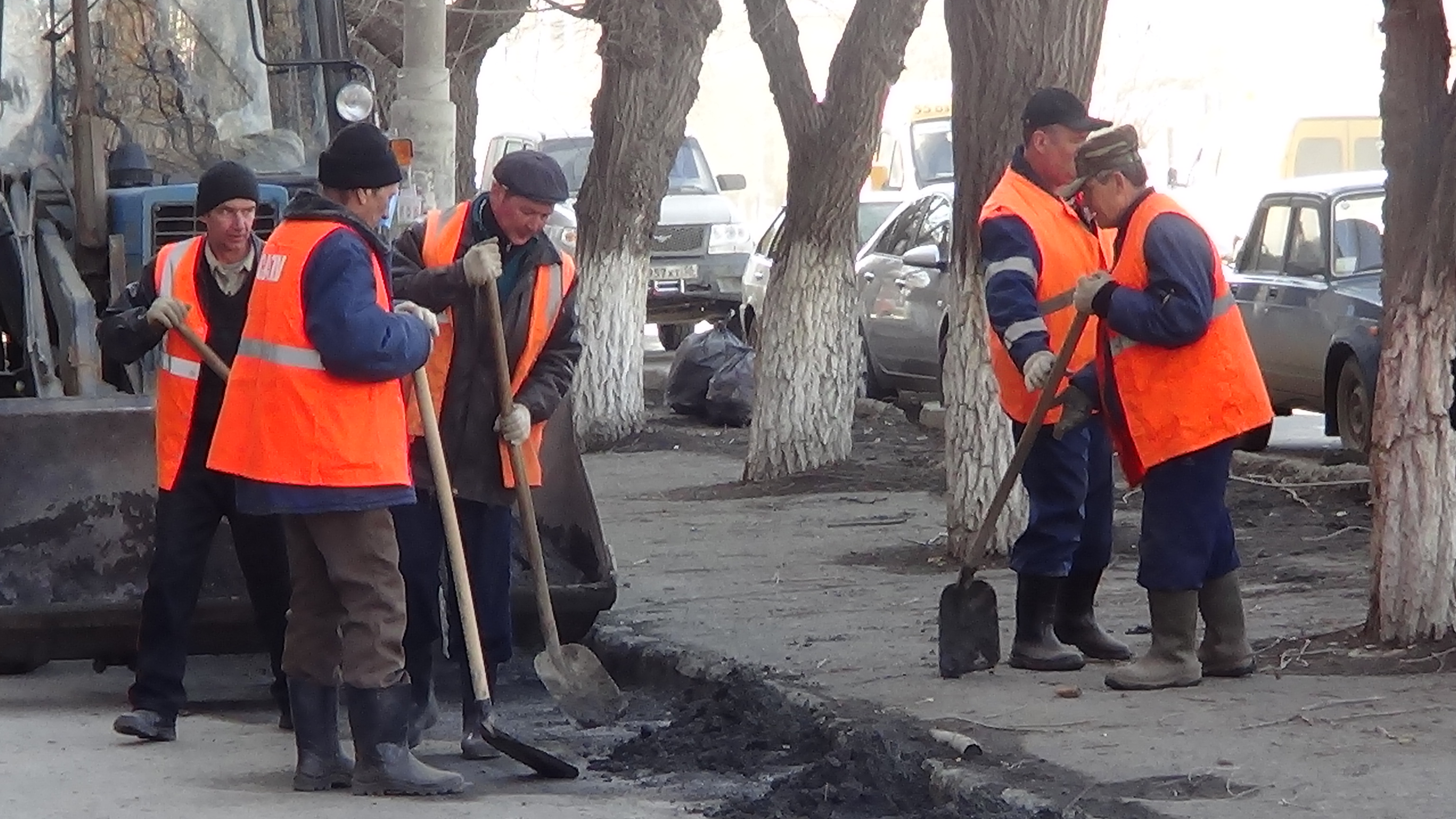 ЖКХ работники