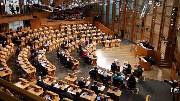 Шотландии парламент