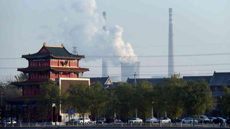 В Пекине остановили работу пэлектростанции