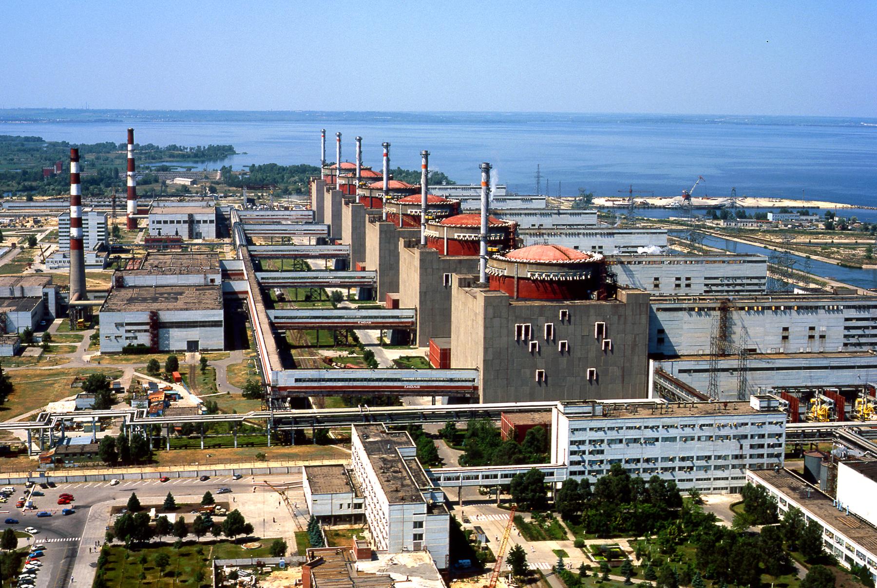 Запорожская атомная электростанция