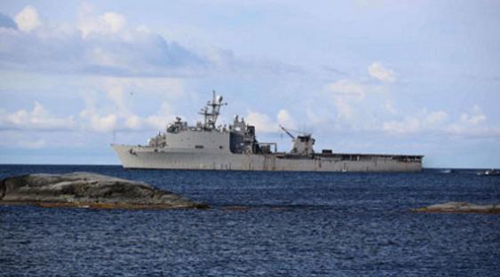десантный корабль Carter Hall