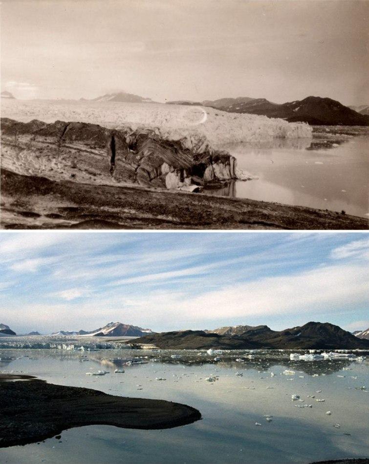горы в Арктике