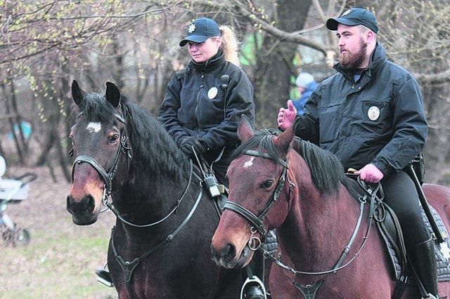 лошади патруль