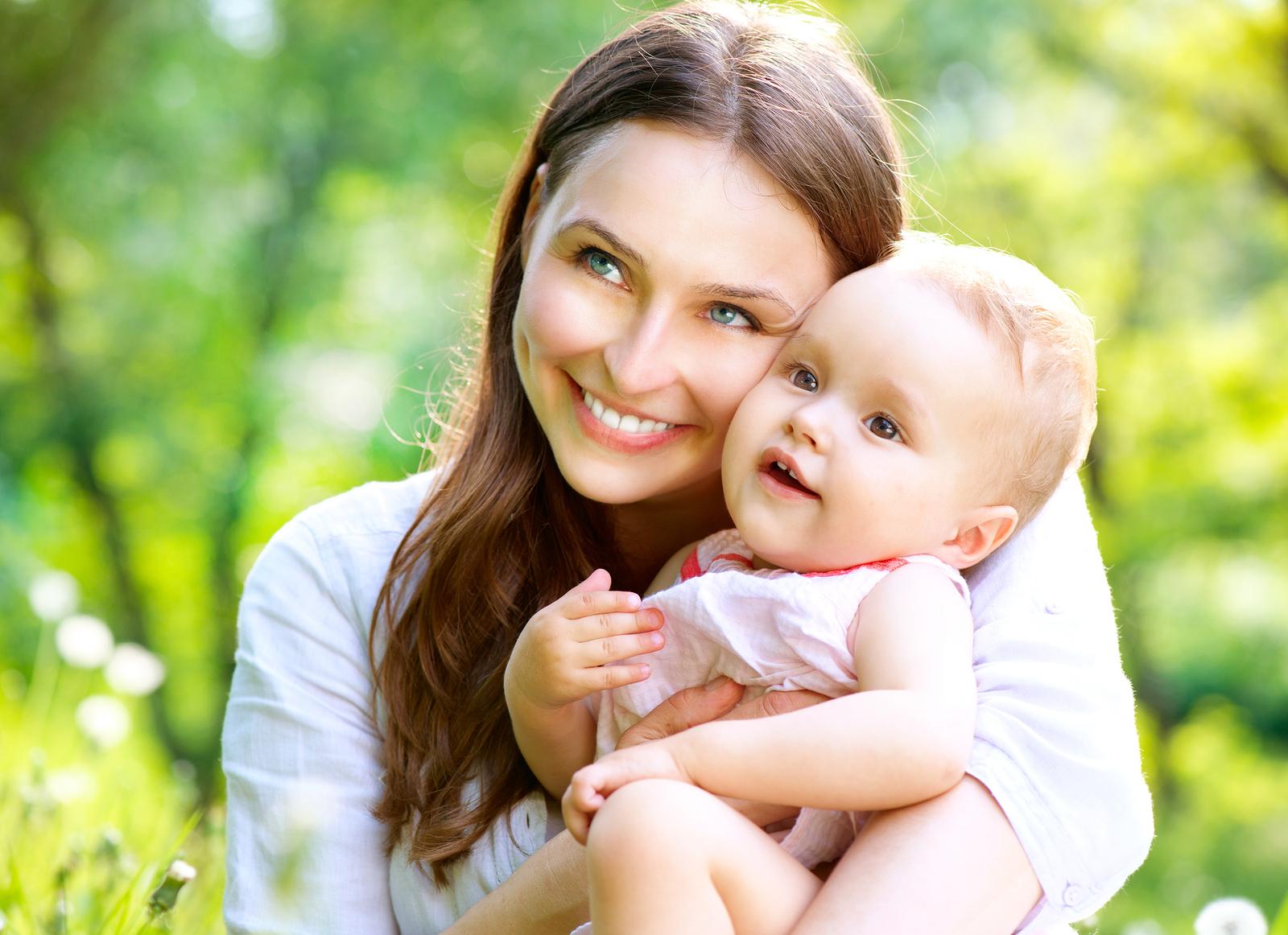 Красивые фото с ребенком и матерью