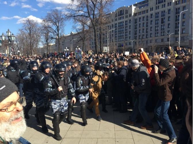 митинг Москвы