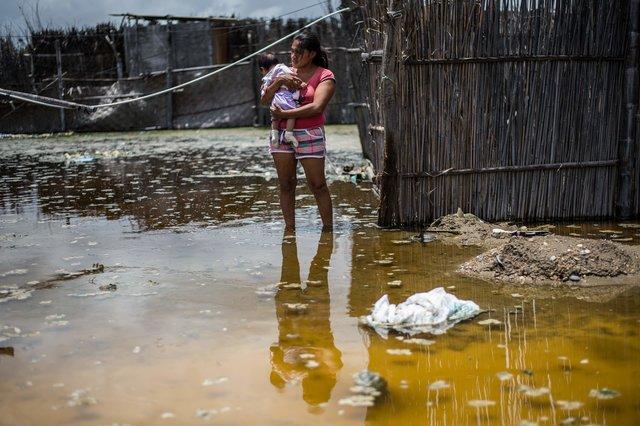 наводнение беда