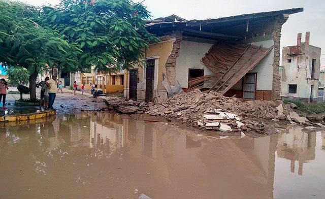 наводнение вода