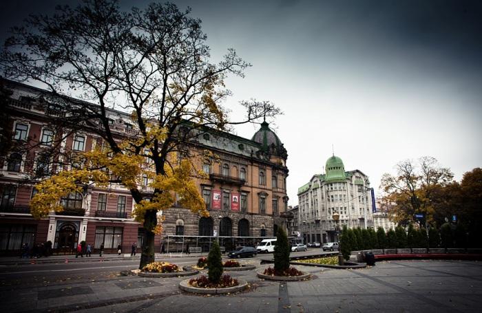 осень во Львове
