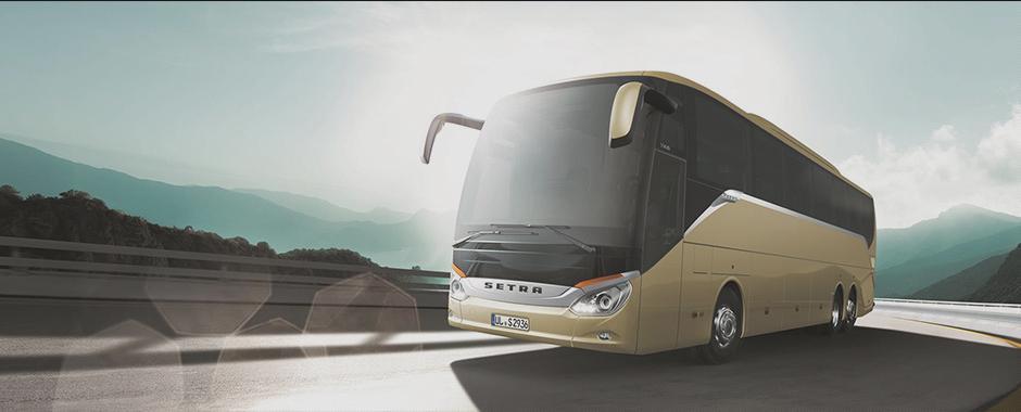 партию иностранных автобусов завезли в Украину