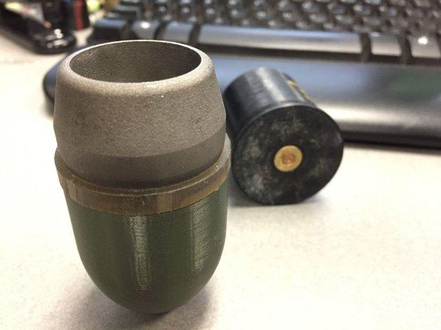 При помощи 3D-принтера жители Америки создали гранатомет