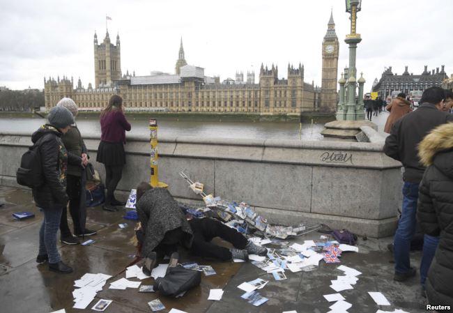 теракт на мосту Лондона