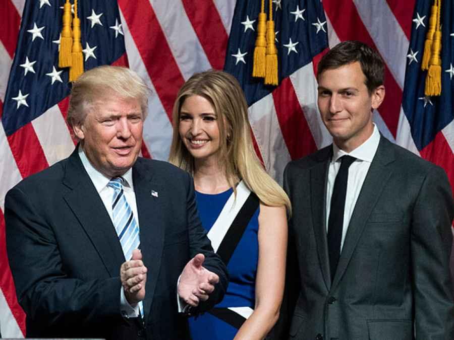 трамп и зять