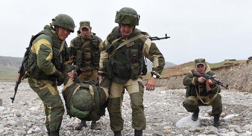 учения России в Таджикистане