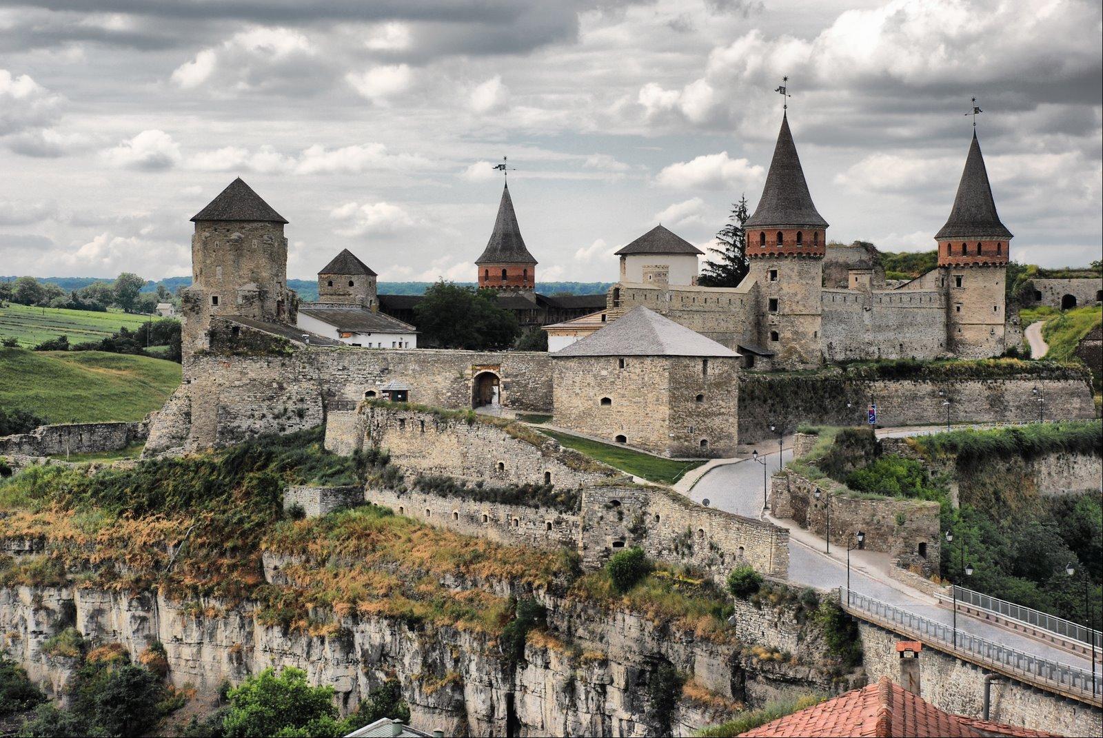 Каменец Подольская старая крепость