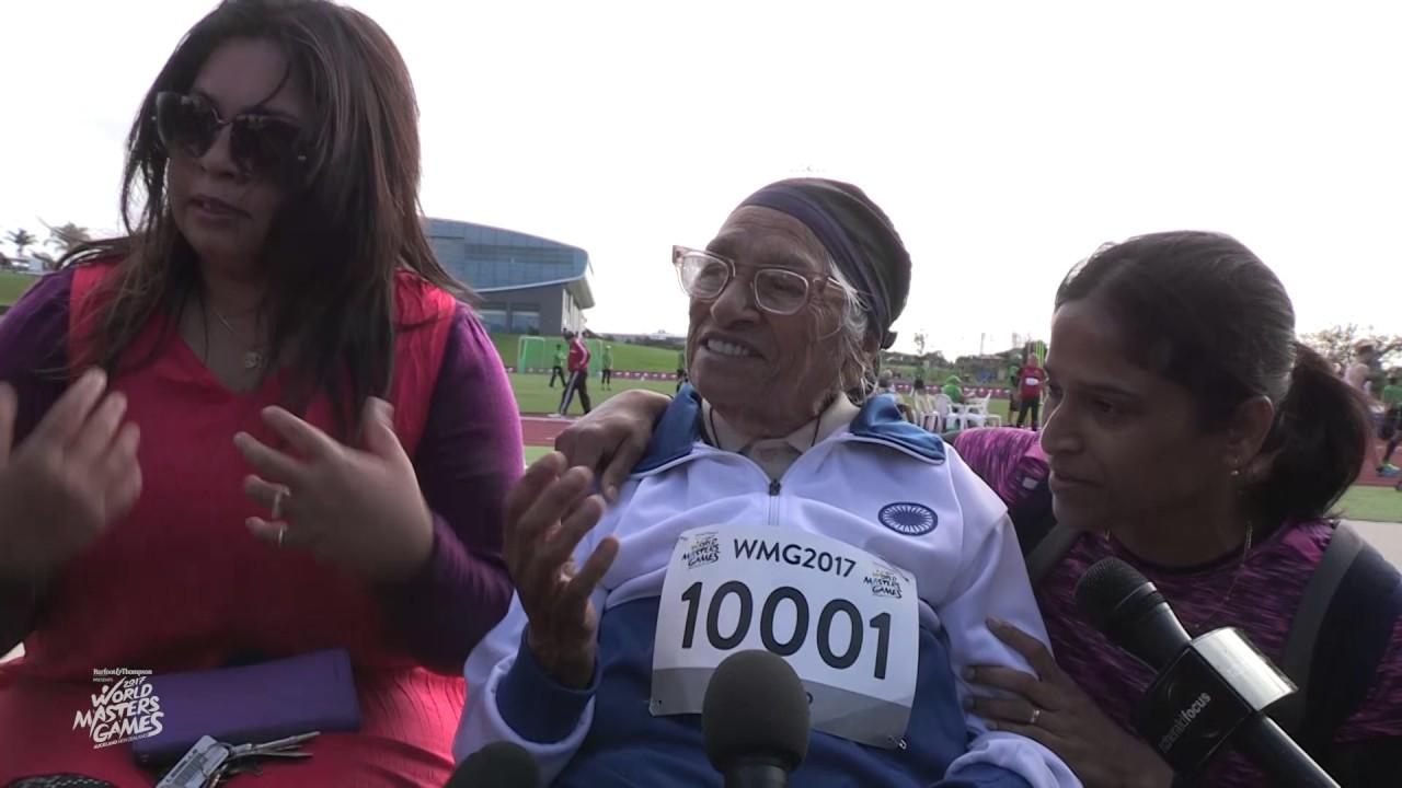 В забеге на 100 метров победила 101-летняя пенсионерка