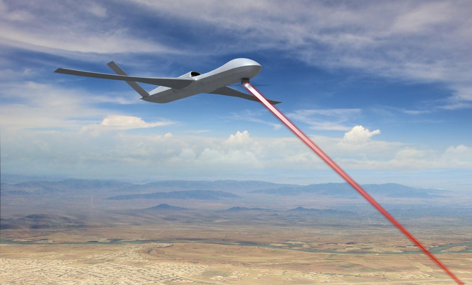 Высокоэнергетичная лазерная система обороны