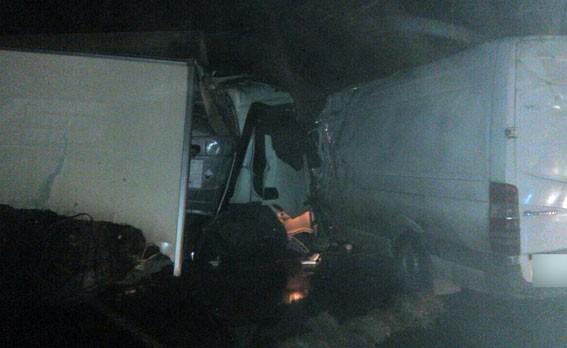 ВПолтавской области случилось масштабное ДТП: семь раненых