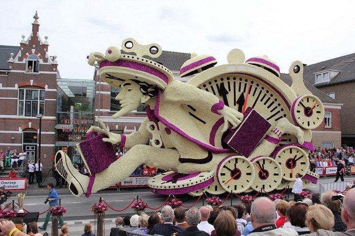 парад в нидерландах