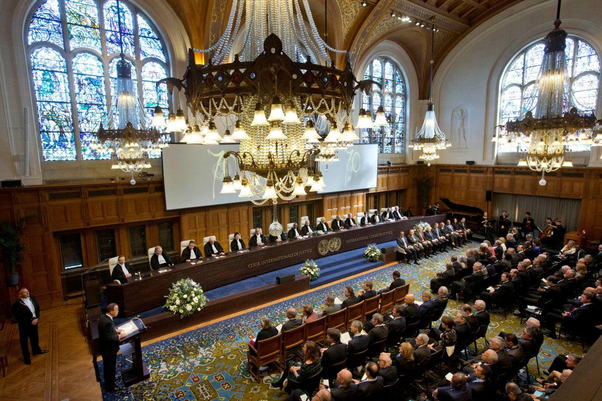 Российская Федерация  отреагировала нарешение суда вГааге