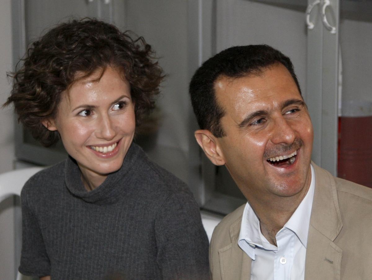 семья Асада