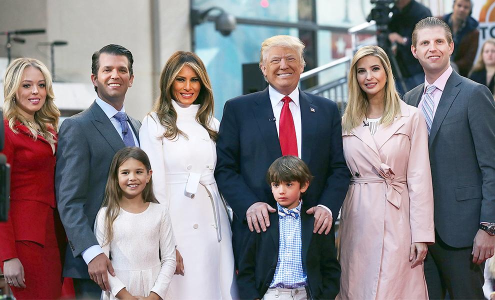 семья трампа