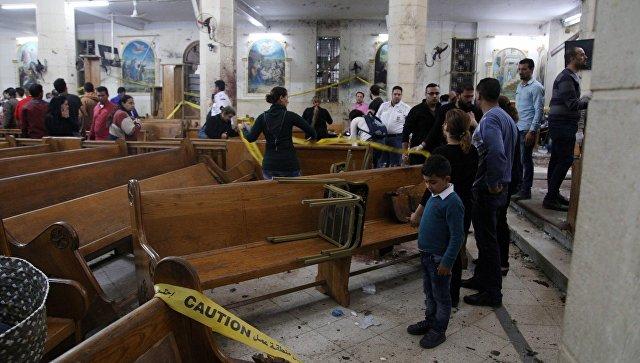 взрыв в египте