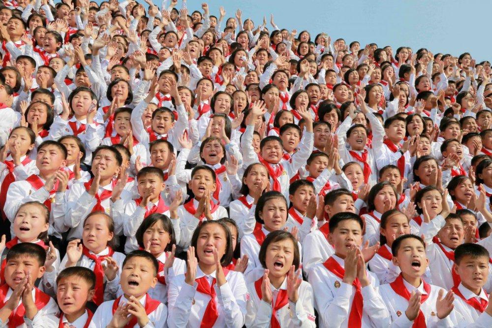 дети в Корее